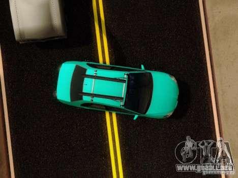 Mitsubishi Lancer para vista lateral GTA San Andreas