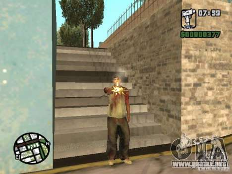 Markus young para GTA San Andreas segunda pantalla