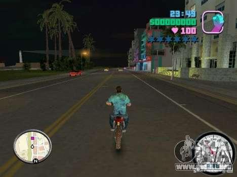 Velocímetro para GTA Vice City sucesivamente de pantalla