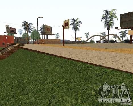 Textura de la cancha de baloncesto para GTA San Andreas segunda pantalla
