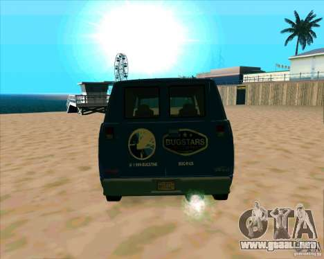 BUGSTARS Burrito from GTA IV para la visión correcta GTA San Andreas