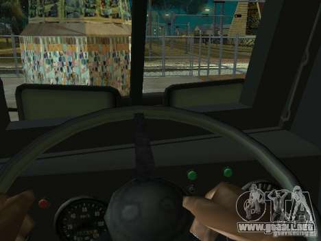 KrAZ-256b1-030 para GTA San Andreas left