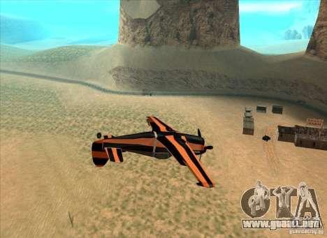 New Rustler para GTA San Andreas left