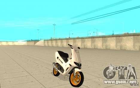 Gilera Runner 50SP Skin 3 para GTA San Andreas