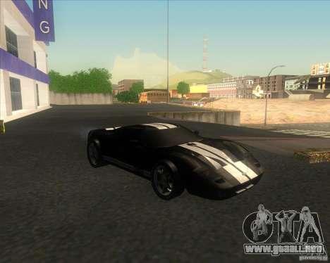Ford GT stock para GTA San Andreas