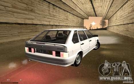 ВАЗ 2114 calidad para visión interna GTA San Andreas