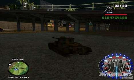 RC mod para GTA San Andreas tercera pantalla