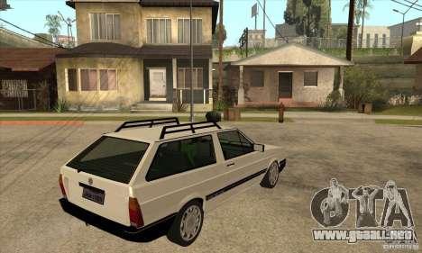 VW Parati GLS 1989 para la visión correcta GTA San Andreas