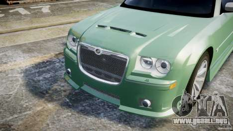 Chrysler 300C SRT8 Tuning para GTA 4 vista superior