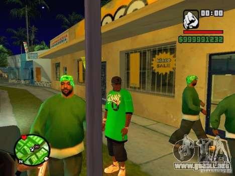 50 cent Skin para GTA San Andreas tercera pantalla