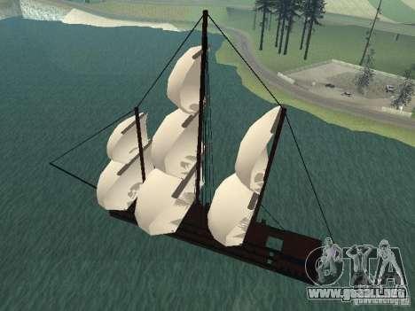 XVIII Century Battleship para GTA San Andreas left