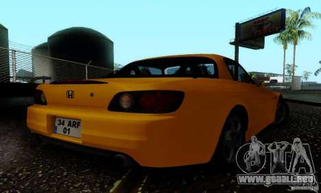 Honda S2000 Tunable para GTA San Andreas left