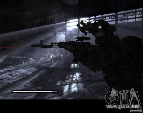 Pantallas de carga Metro 2033 para GTA San Andreas sexta pantalla