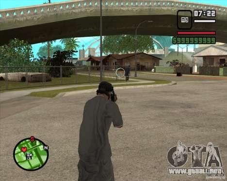 GTA IV Target v.1.0 para GTA San Andreas tercera pantalla