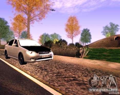 Subaru Legacy 3.0 R tuning v 2.0 para la visión correcta GTA San Andreas