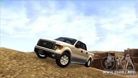 Ford F150 XLT SuperCrew 2010 para GTA San Andreas left