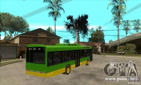 Solaris Urbino 11 para la visión correcta GTA San Andreas