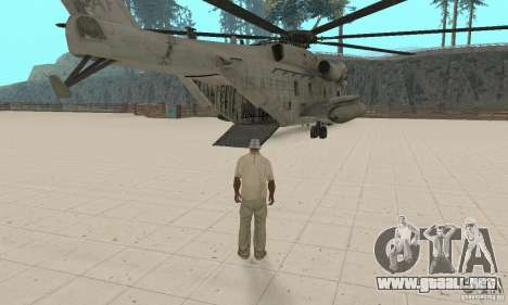 Sikorsky MH-53 para visión interna GTA San Andreas