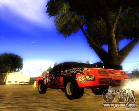 Bonecracker de FlatOut 1 para GTA San Andreas vista posterior izquierda