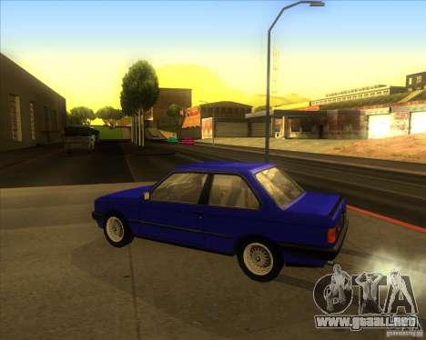 BMW E30 323i para GTA San Andreas left