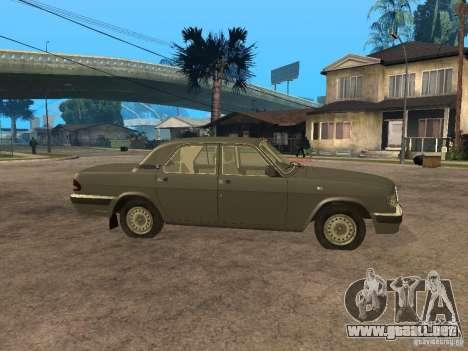 GAZ 3110 v 2 para GTA San Andreas left