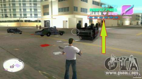 Wanted Level = 0 para GTA Vice City segunda pantalla