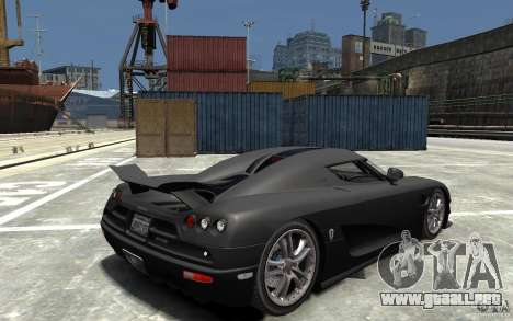 Koenigsegg CCXR Edition V1.0 para GTA 4 visión correcta