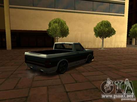 New Tuned Bobcat para GTA San Andreas left