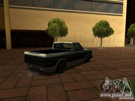 New Tuned Bobcat para GTA San Andreas left