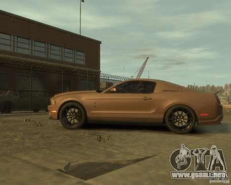 2011 Shelby GT500 Super Snake para GTA 4 left