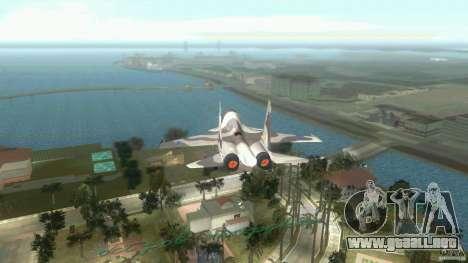 VC Air Force para GTA Vice City vista lateral izquierdo