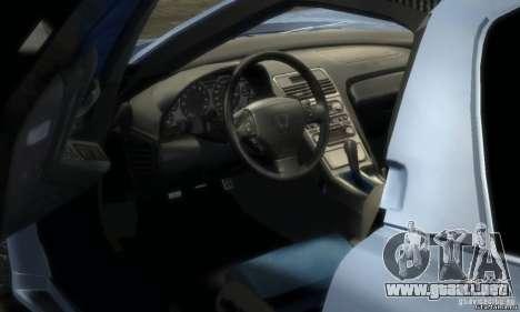 Acura NSX Veilside Fortune v 1.0 para GTA 4 Vista posterior izquierda