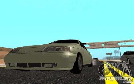 VAZ 2110 luz Tuning para la visión correcta GTA San Andreas