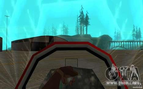 Black Hydra v2.0 para visión interna GTA San Andreas