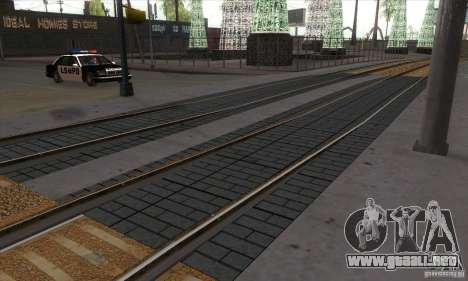 Russian Rail v2.0 para GTA San Andreas tercera pantalla