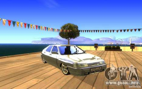 VAZ-2112 LT para vista inferior GTA San Andreas