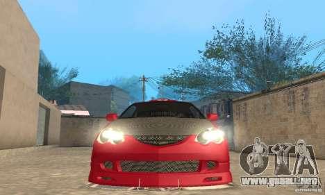 Acura RSX New para las ruedas de GTA San Andreas