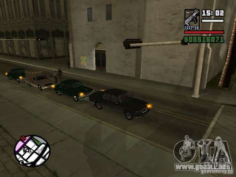 Intermitentes 2.1 para GTA San Andreas