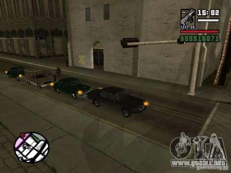 Intermitentes 2.1 para GTA San Andreas