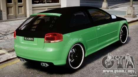 Audi S3 para GTA 4 interior