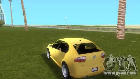 Seat Leon Cupra R para GTA Vice City left