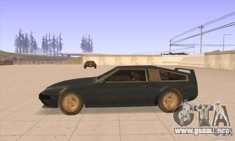 Deluxo HD para GTA San Andreas left