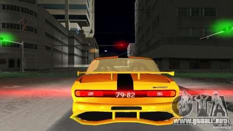 AZLK 2140 para GTA Vice City vista posterior