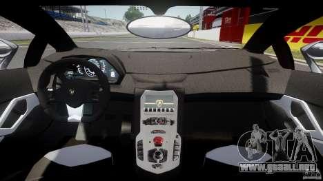 Lamborghini Aventador LP700-4 2011 [EPM] para GTA 4 vista hacia atrás