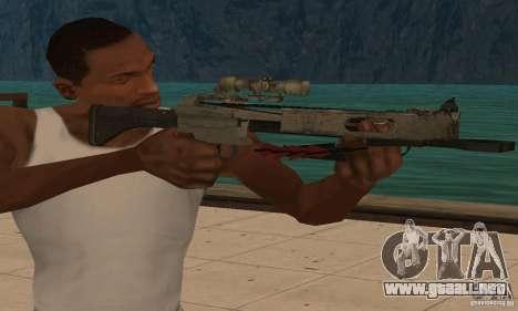 Ballesta de Black Ops para GTA San Andreas tercera pantalla