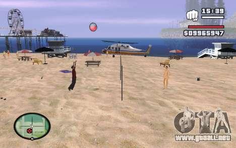 SA Volleyball para GTA San Andreas tercera pantalla