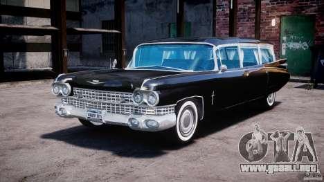 Cadillac Miller-Meteor Hearse 1959 para GTA 4