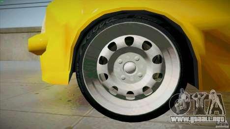 Opel Kadett D GTE Mattig Tuning para vista inferior GTA San Andreas