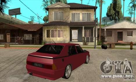 Alfa Romeo 75 Drifting para la visión correcta GTA San Andreas