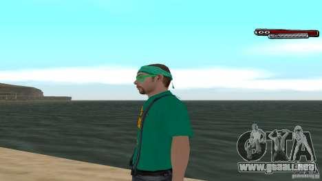 Skin Pack The Rifa Gang HD para GTA San Andreas segunda pantalla